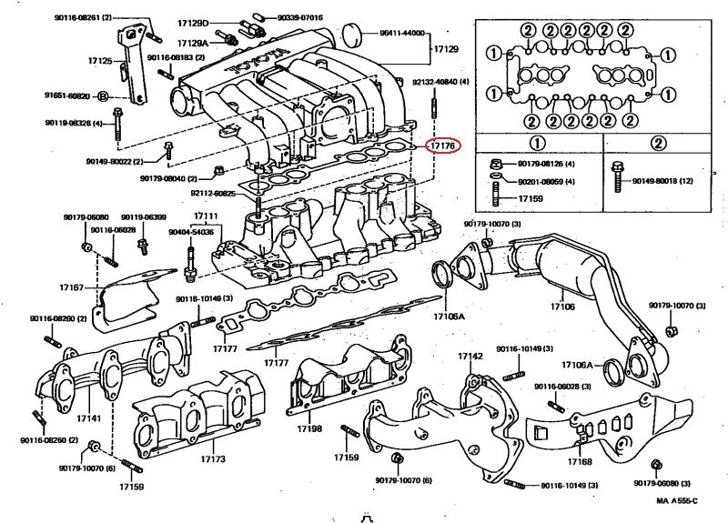 Fuel Pressure Pulsation Damper 94 4Runner V6 - Yotatech Forums throughout 1994 Toyota 4Runner Engine Diagram