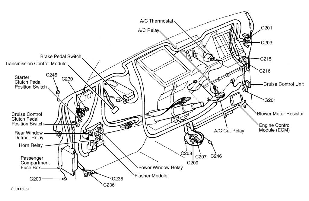 Fuse Diagram For 2000 Sportage - Kia Forum with regard to 2001 Kia Sportage Engine Diagram