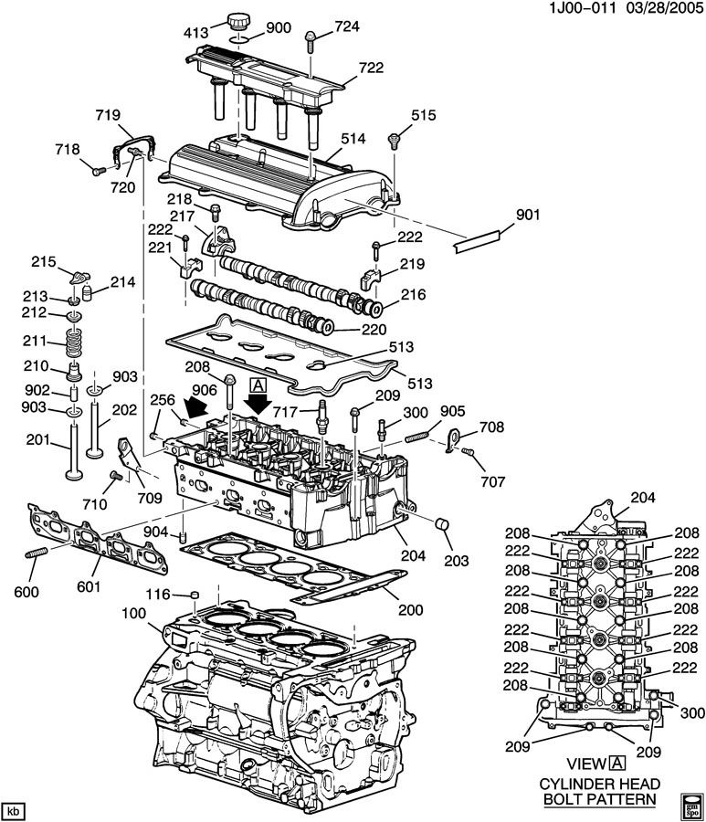 2005 Pontiac Montana Engine Diagram