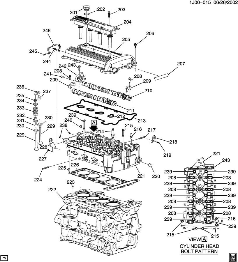 gm engine parts diagram gm ac parts diagram 2004 chevy cavalier engine diagram | automotive parts ... #9