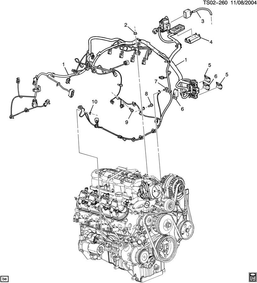 2004 trailblazer wiring harness 2005 trailblazer wiring harness diagram 2004 chevy trailblazer engine diagram | automotive parts diagram images #5