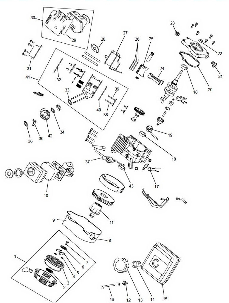 "Honda Horizontal Engine 4.8 Net Hp 163Cc Ohv 3/4"" X 2-7/16"" #gx160-Qx2 pertaining to Honda 5.5 Hp Engine Carburetor Diagram"