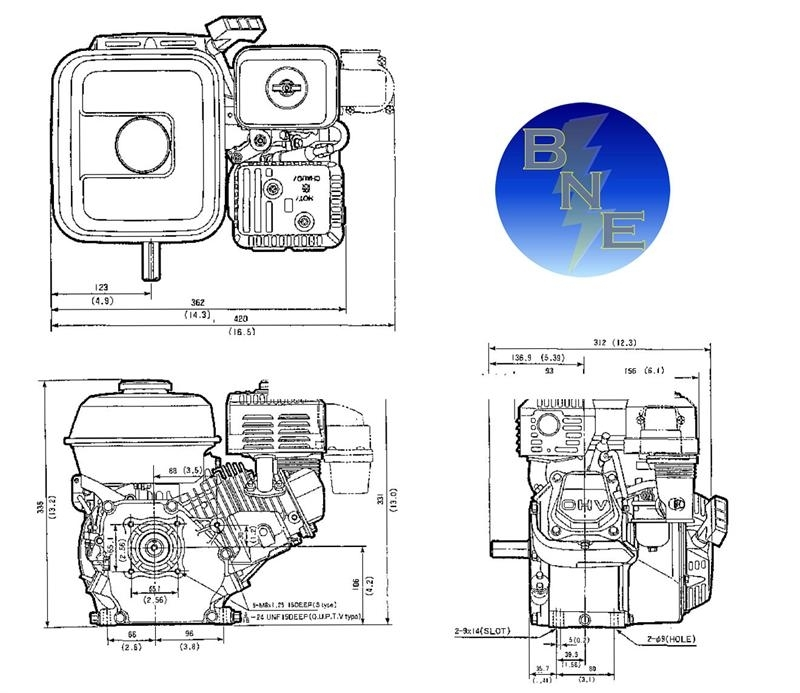 "Honda Horizontal Engine 4.8 Net Hp 163Cc Ohv 3/4"" X 2-7/16"" #gx160-Qx2 within Honda 5.5 Hp Engine Carburetor Diagram"