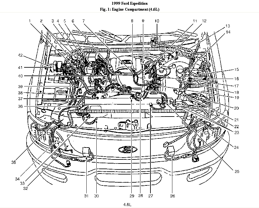 2003 Jaguar X Type Engine Diagram Automotive Parts