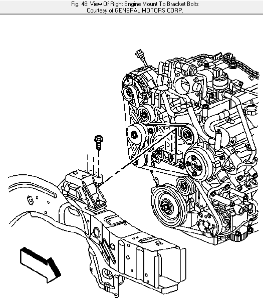 How Do You Install A Serpentine Belt On A 2006 Pontiac Torrent intended for 2006 Pontiac Torrent Engine Diagram