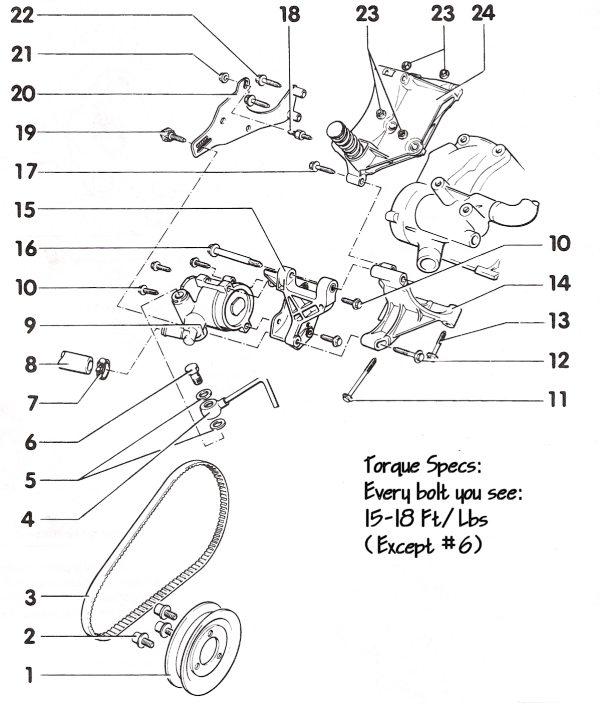 vw jetta vr6 parts diagram
