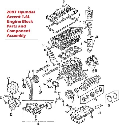 Hyundai Elantra 1.6 2006 | Auto Images And Specification for 2003 Hyundai Elantra Engine Diagram