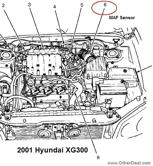 2004 hyundai xg350 engine diagram 2002    hyundai    accent    engine       diagram    automotive parts  2002    hyundai    accent    engine       diagram    automotive parts