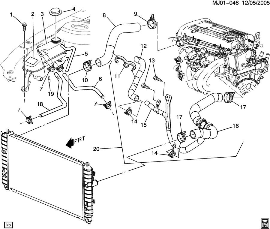 2002 Chevy Cavalier Engine Diagram