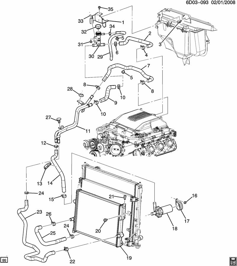 2003 cadillac cts engine diagram