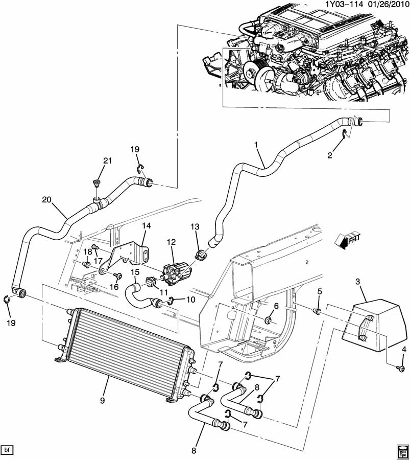 2003 Cadillac    Cts    Engine    Diagram      Automotive Parts    Diagram    Images