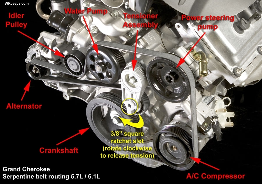 Jeep Grand Cherokee Wk - 2008 Grand Cherokee Introduction in 2007 Jeep Grand Cherokee Engine Diagram