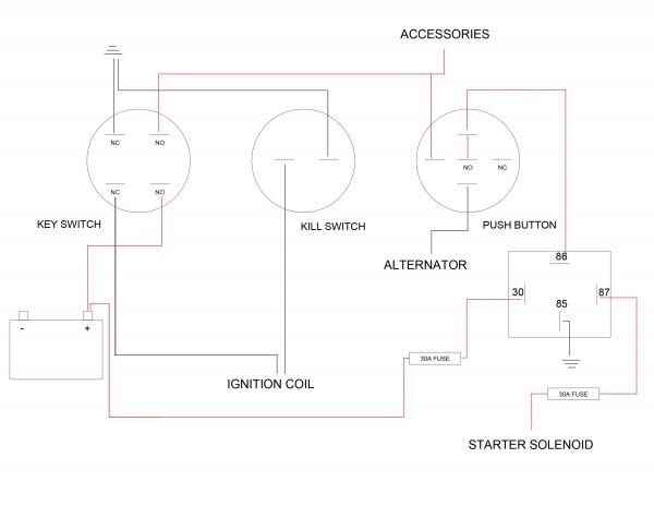 Kohler Courage Pro Sv840 27 Hp Custom Ignition Wiring inside 20 Hp Kohler Engine Wiring Diagram