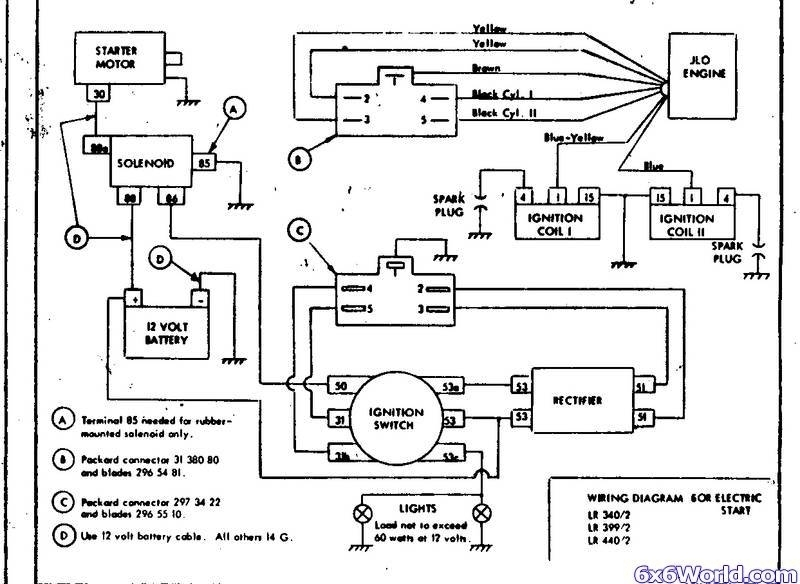 kohler engine ignition wiring diagram automotive parts Kohler Magnum Ignition Wiring Diagram Kohler Small Engine Wiring Diagram