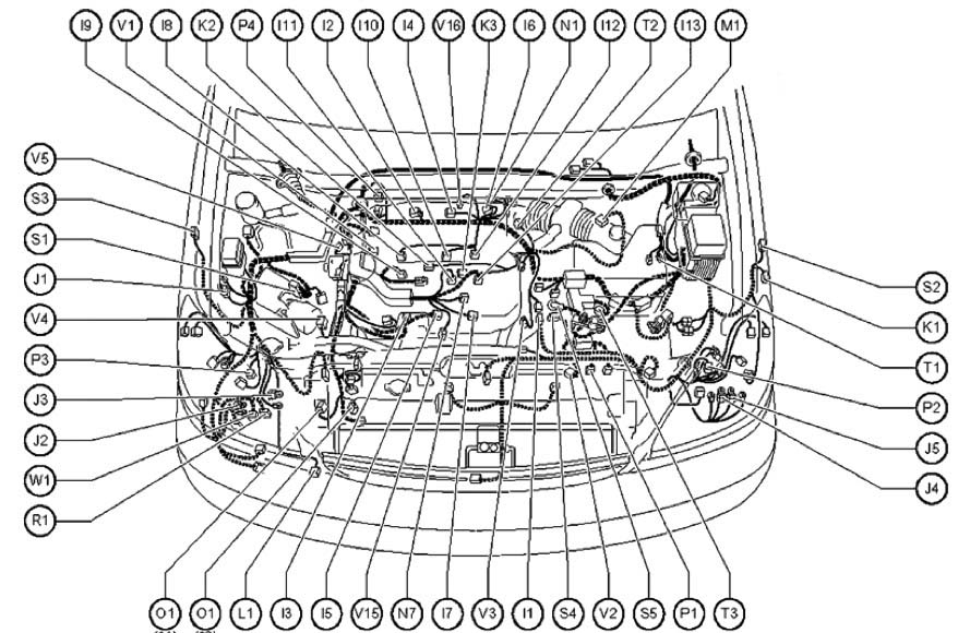 lexus engine schematics lexus ls engine diagram lexus wiring intended for 1999 lexus rx300
