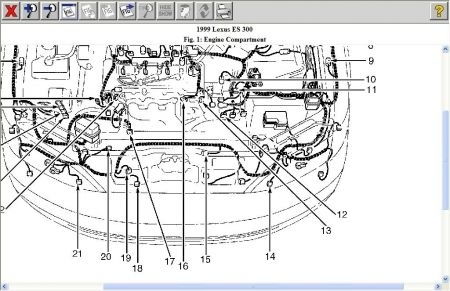 Lexus Es 300 1999 | Auto Images And Specification pertaining to 1999 Lexus Rx300 Engine Diagram
