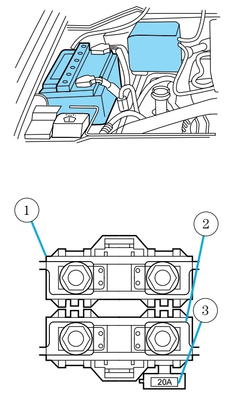 Lincoln Navigator I Mk1 (First Generation 1998 – 2002) – Fuse Box within 2003 Lincoln Navigator Engine Diagram