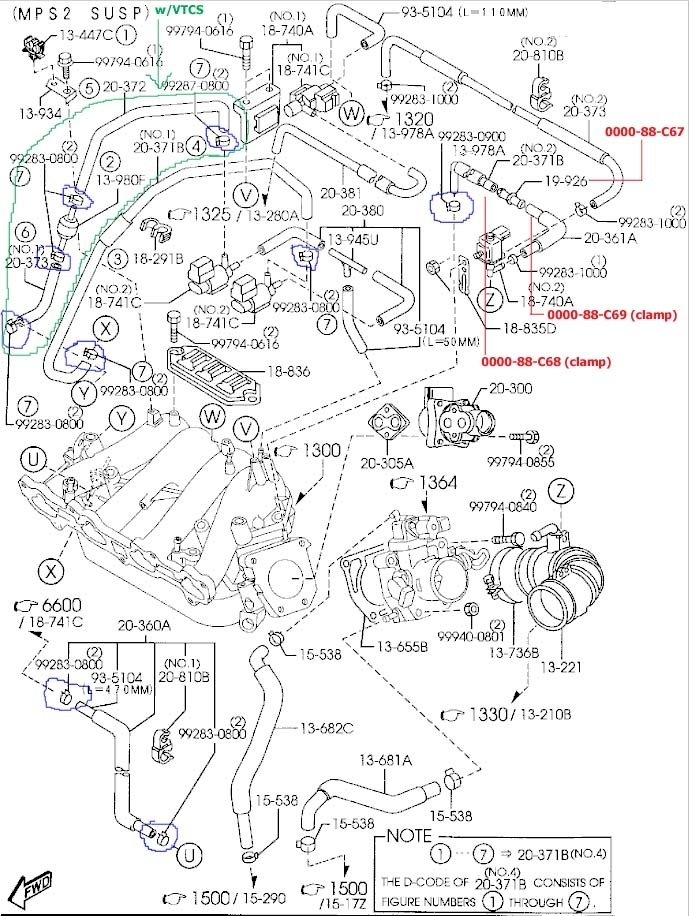 Mazda Tribute 2.0 2001 | Auto Images And Specification throughout Mazda Mpv 2001 Engine Diagram