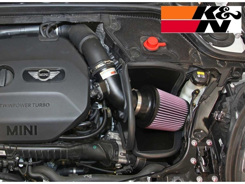 Mini Cooper Cold Air Intake K&n Typhoon Gen3 F55 F throughout Mini Cooper Engine Bay Diagram