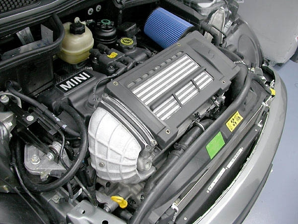Mini Cooper-S Install - System2D - Waterinjection for Mini Cooper Engine Bay Diagram