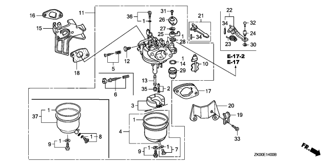 Must-Have Fuel System Info (Why Won't My Kart Start?) - Diy Go pertaining to Honda Small Engine Carburetor Diagram