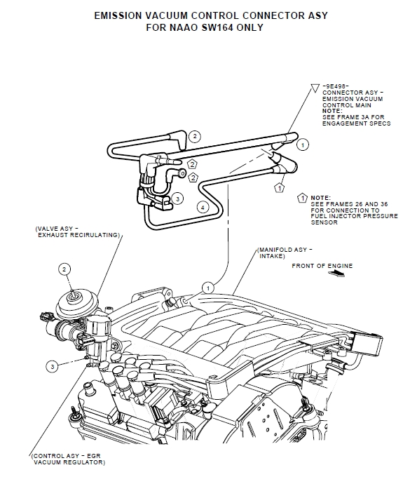 2001 mercury cougar engine diagram