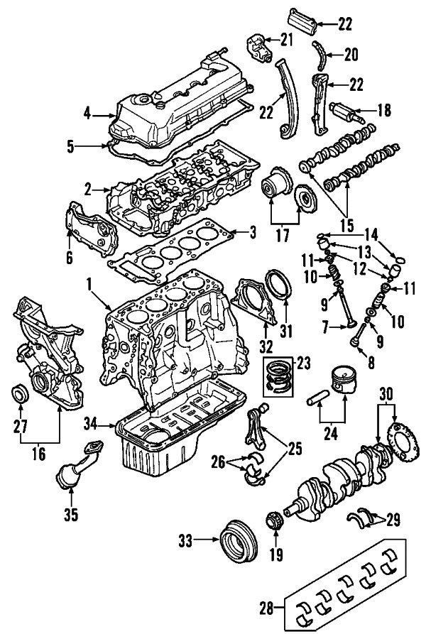 nissan 132644z011 genuine oem valve cover ebay in 2000 nissan sentra engine diagram 2000 nissan maxima wiring diagram & graphic\