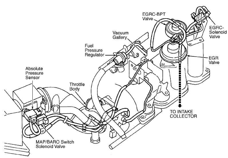 1998    Nissan       Altima       Engine       Diagram      Automotive Parts    Diagram    Images