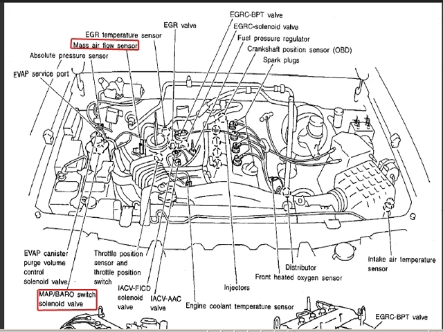 1990 nissan maxima engine diagram 2000 nissan maxima engine diagram | automotive parts ... 2000 maxima engine diagram #9