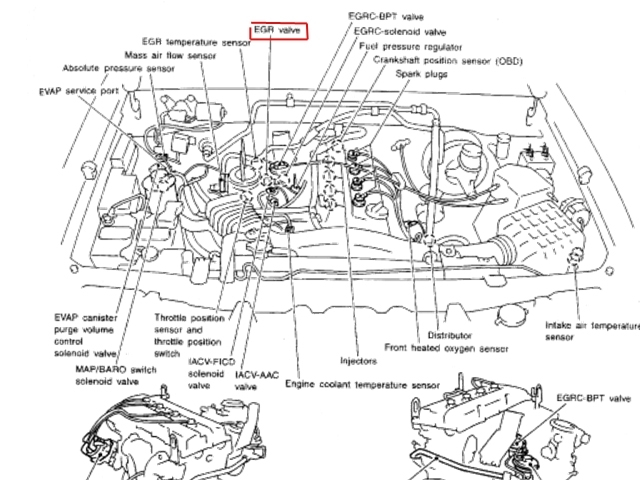 20001 nissan xterra fuel filter location 2000 nissan xterra engine diagram | automotive parts ... 2000 nissan xterra fuel diagram #11