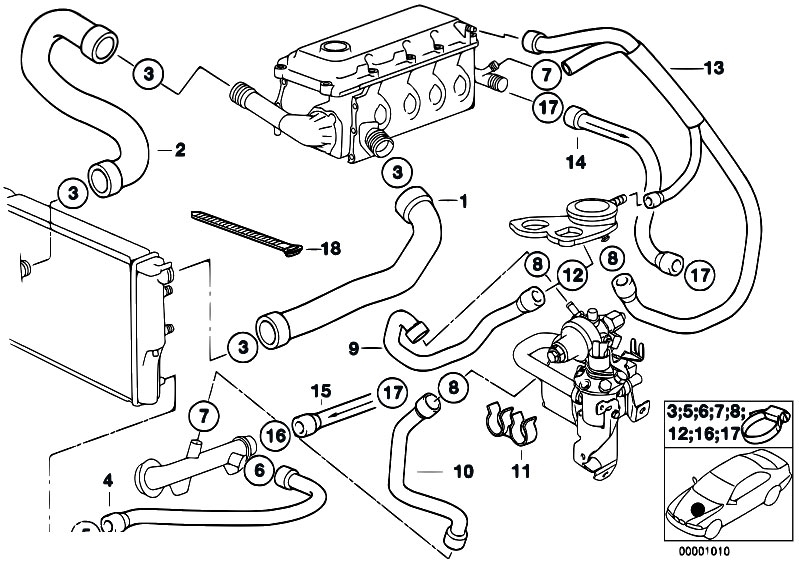 2000 Bmw 328i Engine Diagram on e36 cooling system diagram