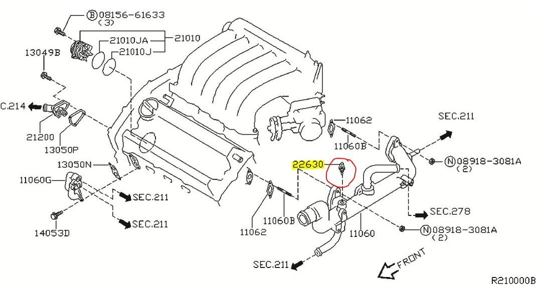 2007 nissan maxima engine diagram