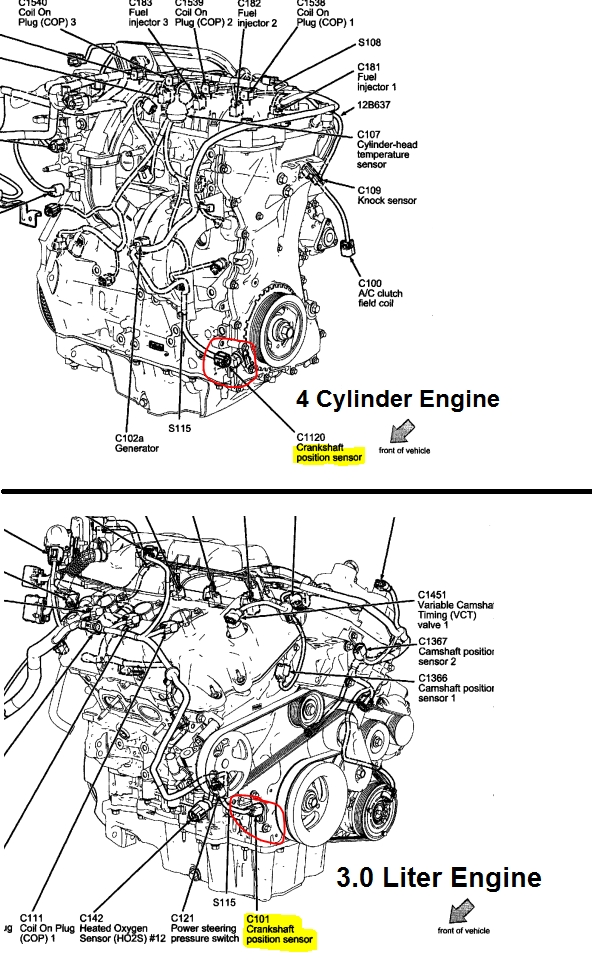 Wiring Diagram For 2007 Mercury Milan on ford escape v6 engine diagram
