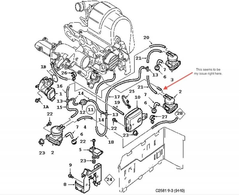 saab 9 5 engine diagram | automotive parts diagram images saab 9 3 engine diagram