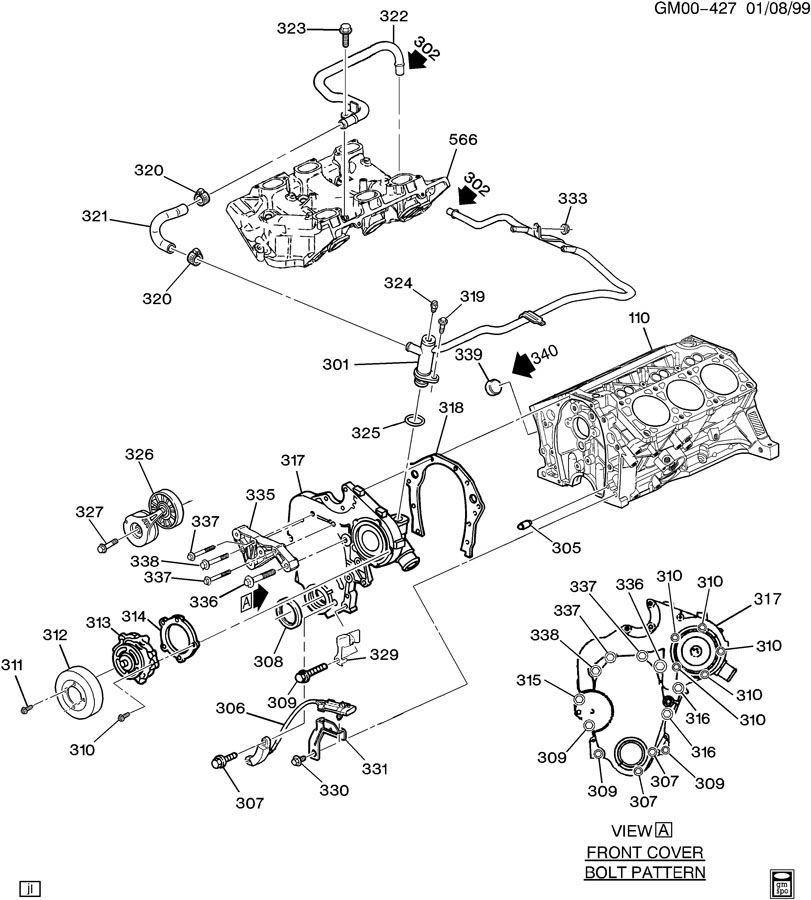 2003 Pontiac Grand Am Parts Diagram
