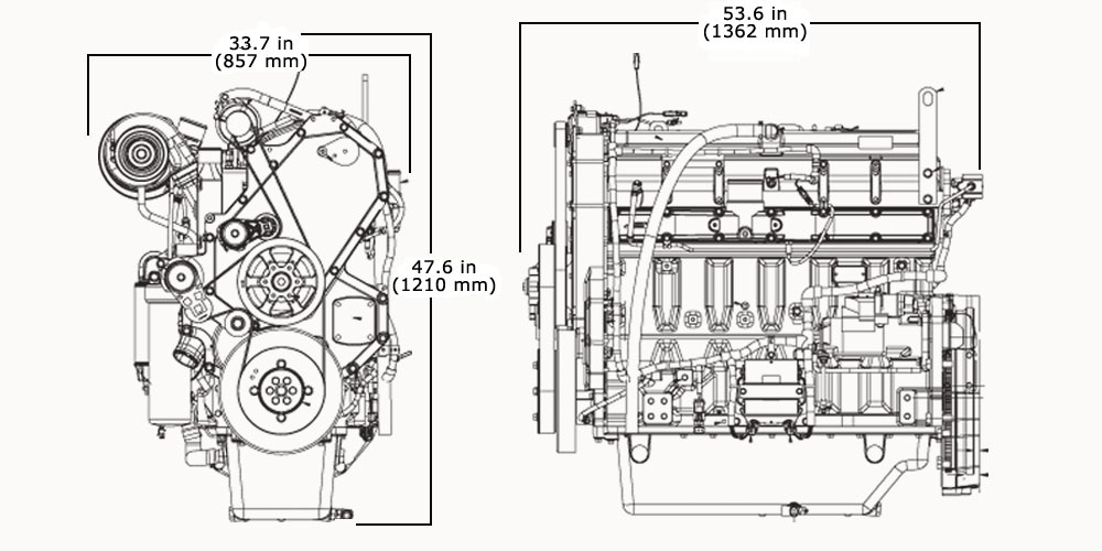 Powertech Industrial Engine | 6135Hf475 | John Deere Ca inside John Deere 2 Cylinder Engine Diagram