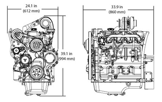 Powertech M Industrial Engine | 4045Tf280 | John Deere Ca with John Deere 2 Cylinder Engine Diagram