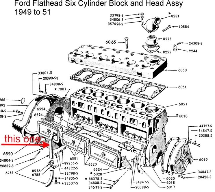 Problems With Engine!? 1951 F1, 226 Cui - Ford Truck Enthusiasts for Ford F150 4.6 Engine Diagram