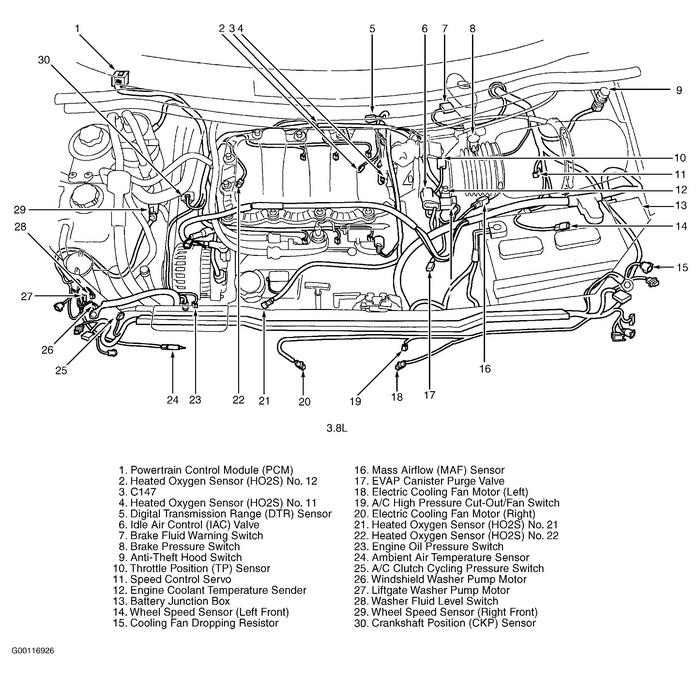 2001 ford windstar engine diagram