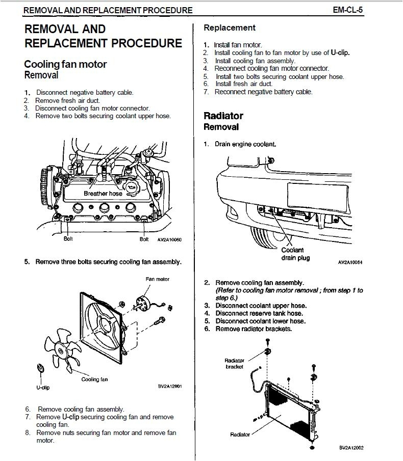 Removing Radiator Kia Sedona 2005 - Kia Forum for 2003 Kia Sedona Engine Diagram