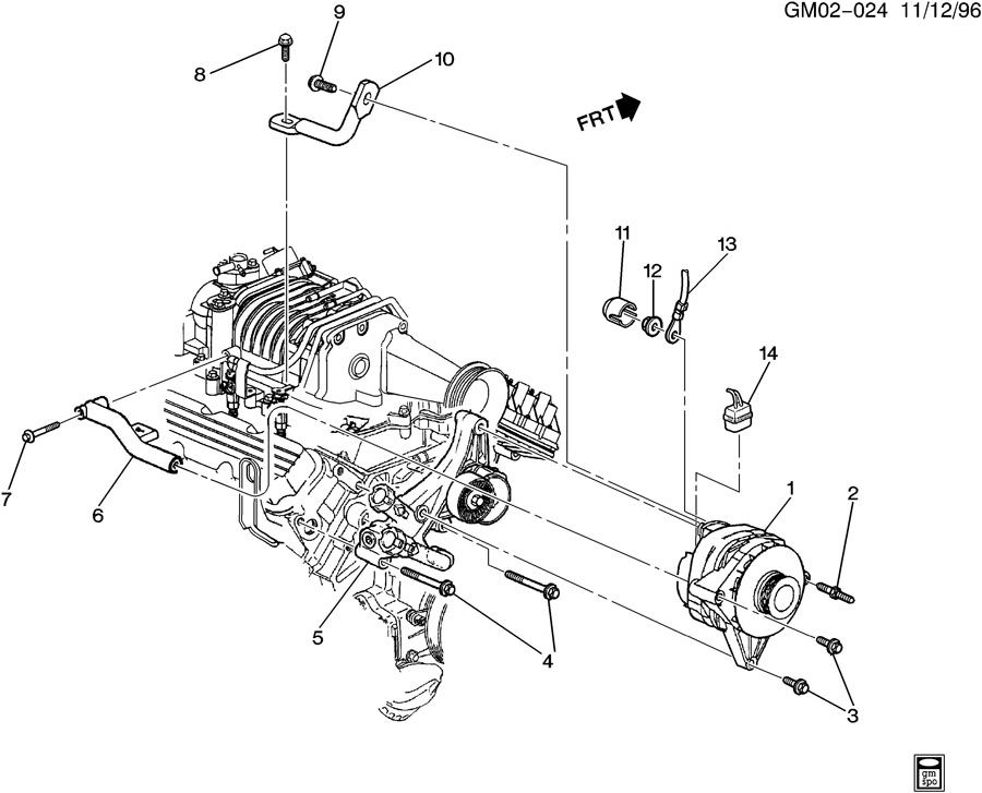 2003 Chevy Impala Engine Diagram