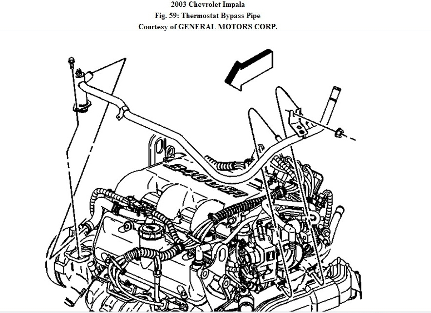 2000 Chevy Impala Engine Diagram Automotive Parts