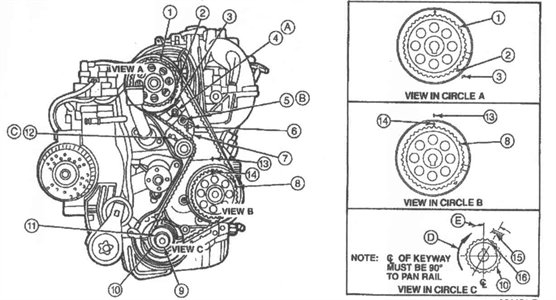Solved: How Do I Reset The Timing On A 1994 Ford Ranger? - Fixya in 1994 Ford Ranger Engine Diagram