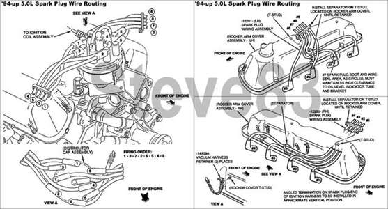 1996 ford f 150 302 engine parts diagram