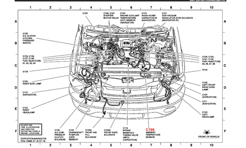 Ford       Focus    2002    Engine       Diagram      Automotive Parts    Diagram    Images