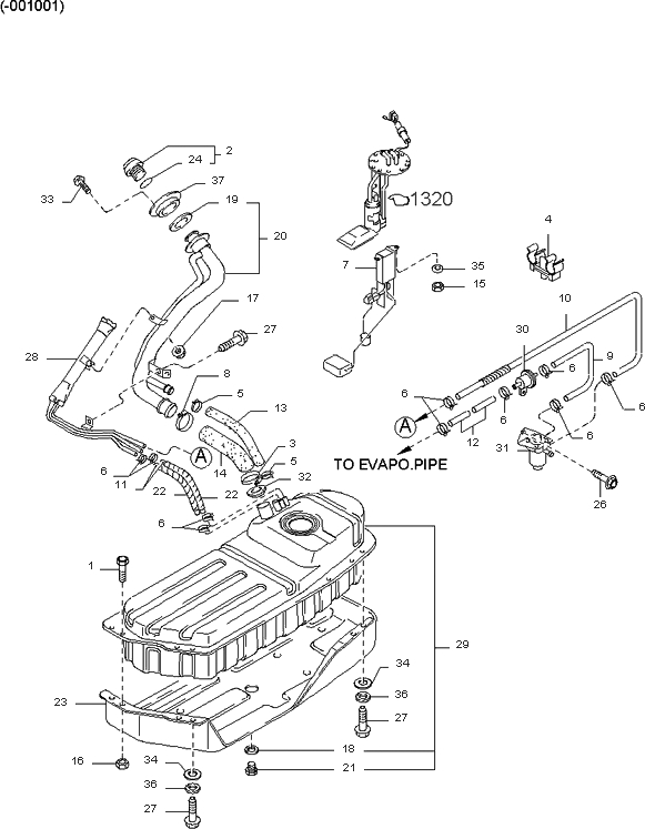 kia sportage engine diagram 1998 kia sportage engine diagram 2001 kia sportage engine diagram | automotive parts ... #7