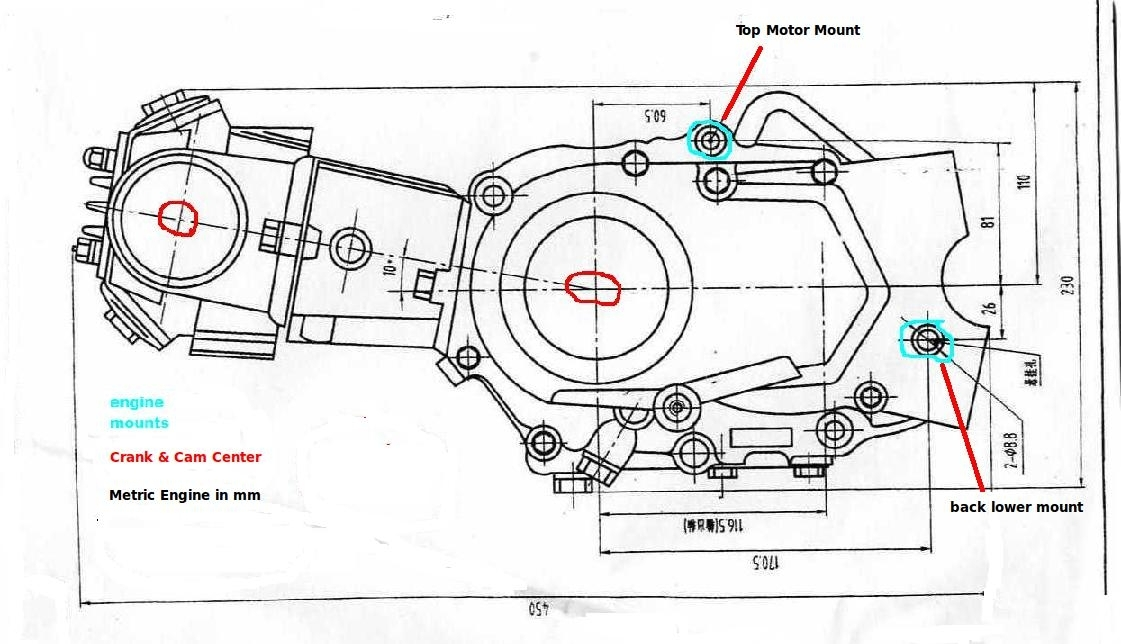 4 Stroke    Dirt       Bike    Engine    Diagram      Automotive Parts    Diagram    Images