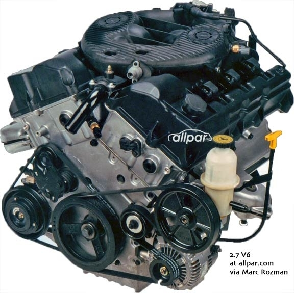 2000 Dodge Intrepid 2 7 Engine Diagram