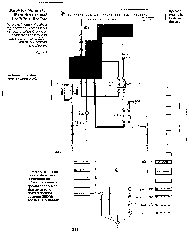 engine control wiring diagram 1996 toyota camry engine diagram | automotive parts ... winch control wiring diagram