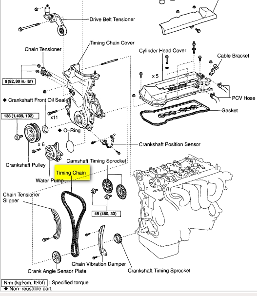 1999 Toyota Camry Engine Diagram